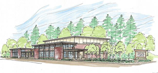 Pendragon Theatre concept design